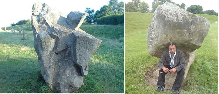 Avebury stone seats