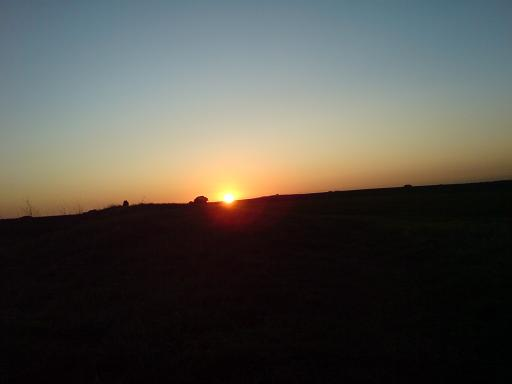 Sunset over West Kennet - Sept 09