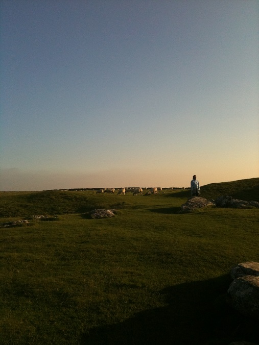 Arbor Low at Sunset