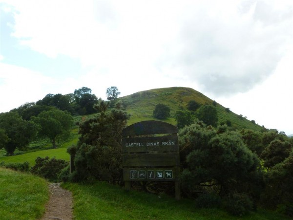 Approach to Dinas Bran