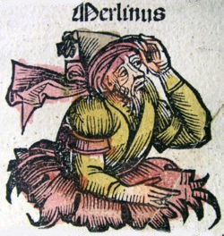 Merlin - a sonless man we presume