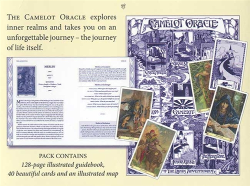 The contents of the Camelot Oracle pack