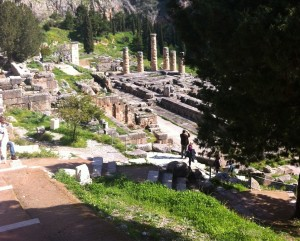 Delphi From Above