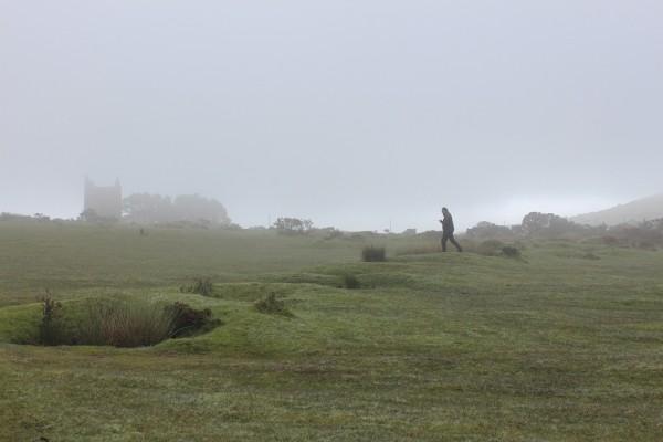Mist on Bodmin Moor near Minions