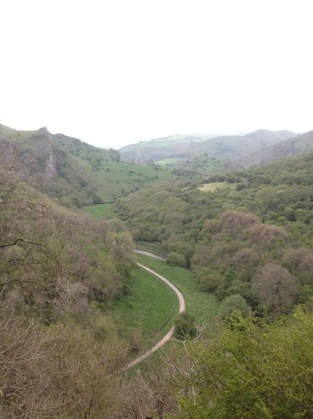 View of the Manifold Valley from Thor's Cave
