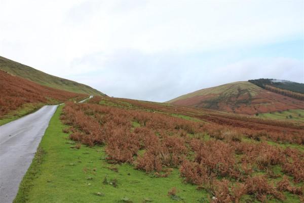 Hay Bluff in autumnal splendour