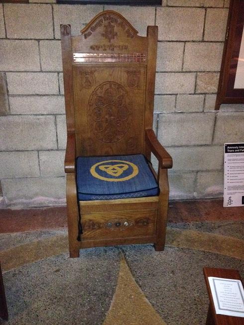 Bardic Chair, Truro, Cornwall - Winter Solstice 2013 (1)