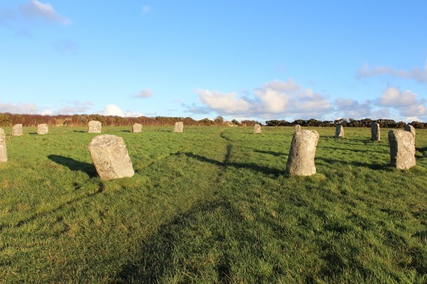 Merry Maidens, Cornwall - Winter Solstice 2013 (2)