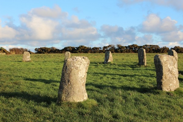 Merry Maidens, Cornwall - Winter Solstice 2013 (3)