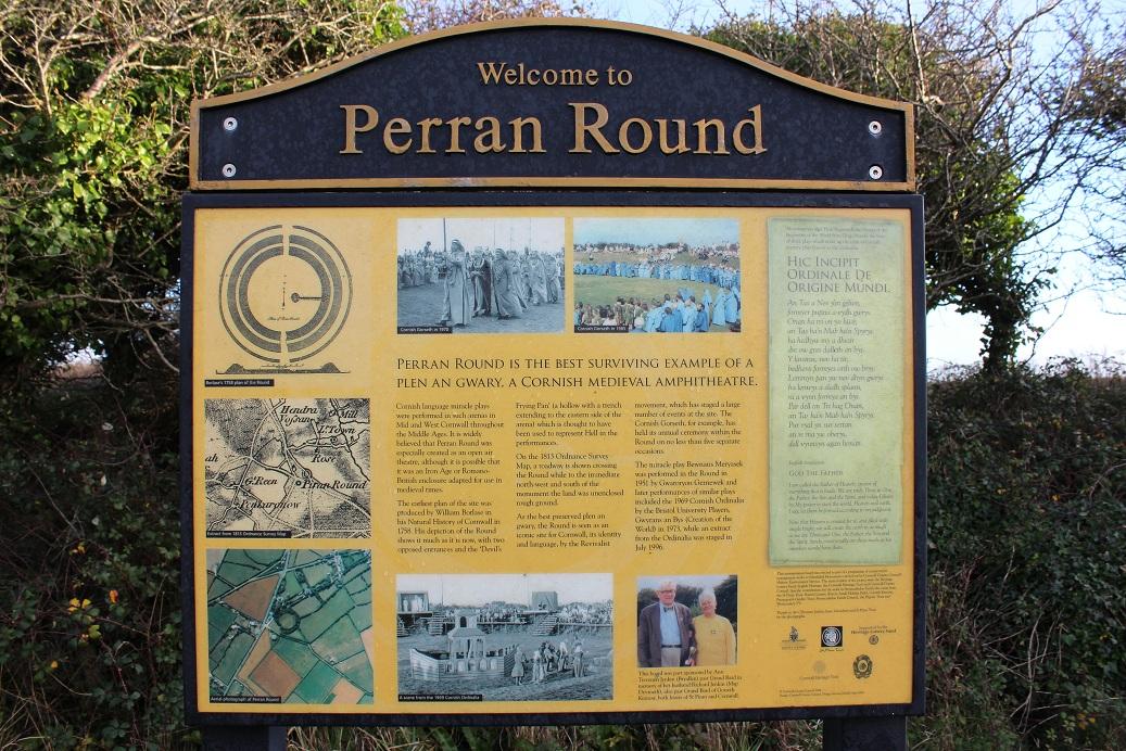 Perran's Round, Cornwall - Winter Solstice 2013 (1)