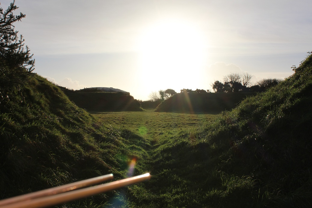 Perran's Round, Cornwall - Winter Solstice 2013 (4)