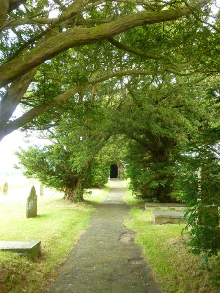 Llanfihangel St Michaels Church - June 14 (12) (Medium)