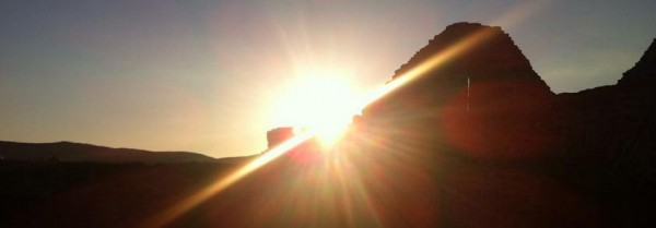 Ballinskelligs Abbey - Sun