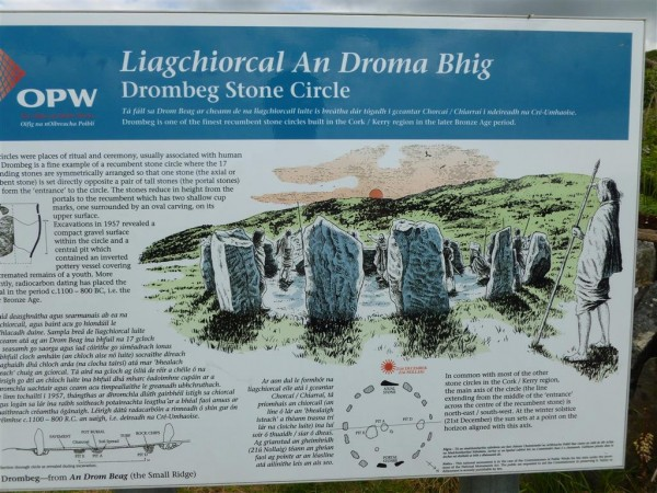 Information about Drombeg