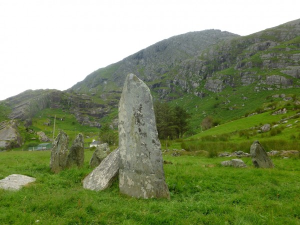 A typical arrangement of stones at Shonebrane