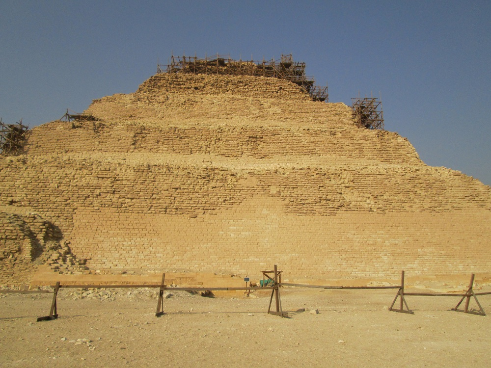 Energy restoration at Djoser pyramid – Egypt 5
