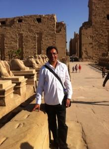 Rows of Sphinx at Karnak