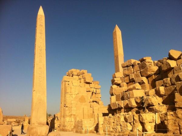 Two Obelisks at Karnak