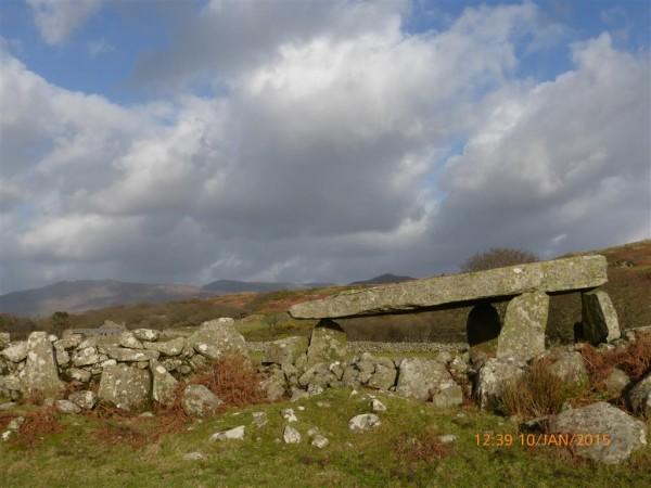 Cerrig Arthur dolmen - Jan 15 (15)