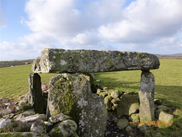 Cerrig Arthur dolmen - Jan 15 (5)