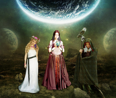 Maiden, Mother and Crone (c) ArchSeer