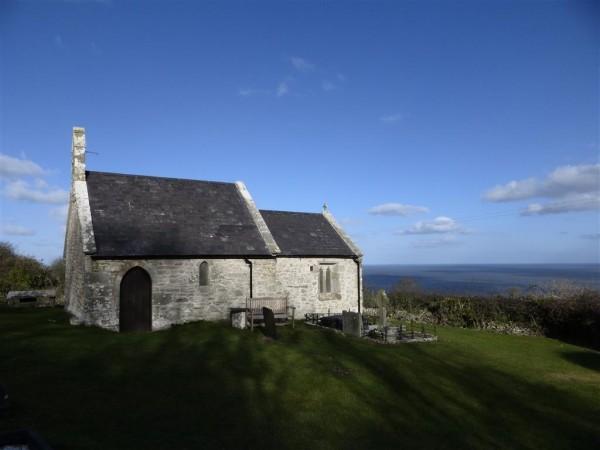 St Michaels Church near Bwrdd Arthur - Anglesey - Imbolc 2015 (1)