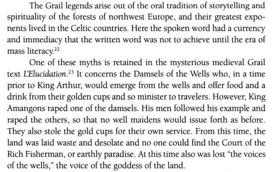 """Excerpt from Caitlin Matthews' book """"Sophia"""""""
