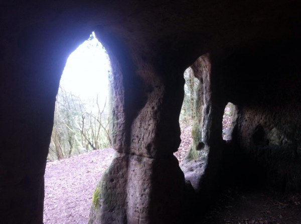 Hermits Cave Inside