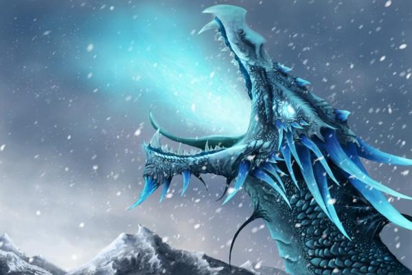 Breath of an Ice Dragon