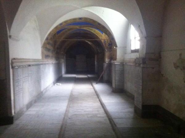 Crypt below the Church