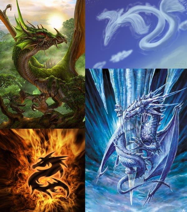 four Dragons Breathing