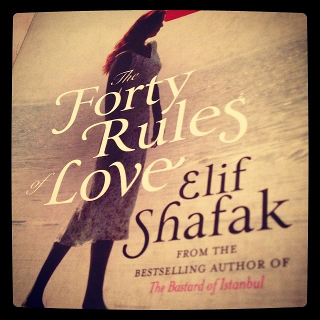 Life tumbles on OR Forty Rules of Love