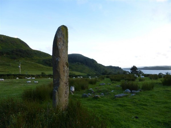 Loich Melfort standing stone - Lammas 2015 (3)