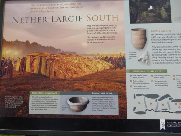 Nether Largie South cairn - Lammas 2015 (6)