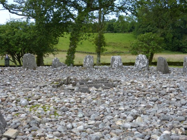 Temple Wood South stone circle - Lammas 2015 (1)