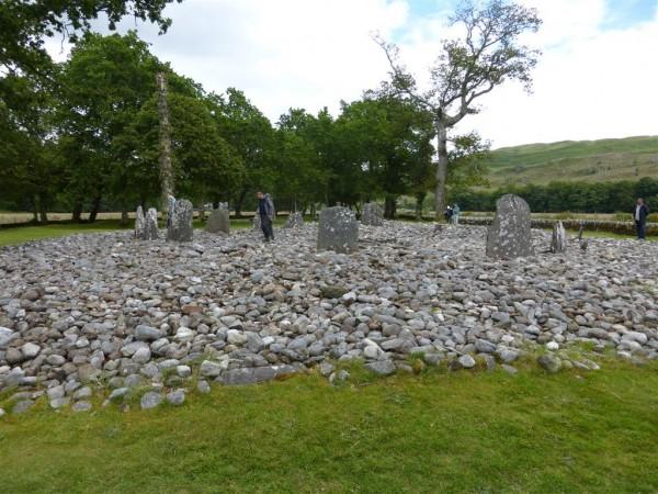 Temple Wood South stone circle - Lammas 2015 (3)