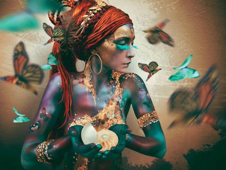 Caileach as a Butterfly Lammas 3