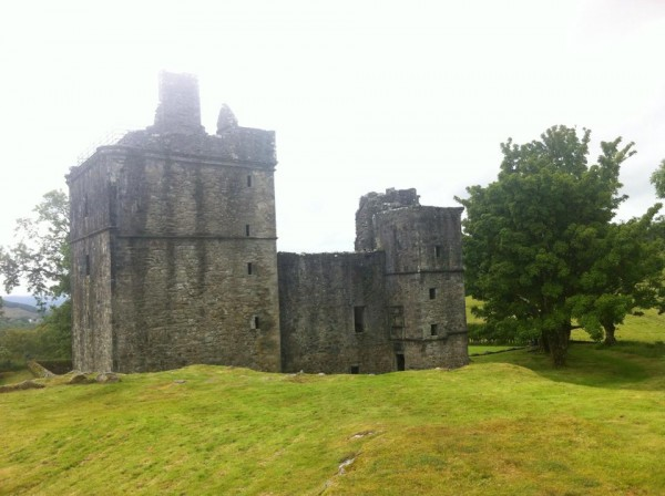 Kilmartin Castle Side View