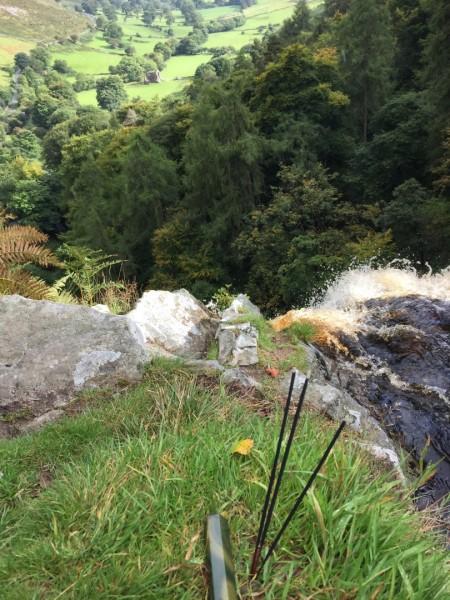 Llanrhaeadr Waterfall - autumn 2015 (1)