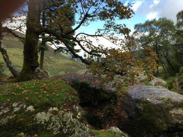Llanrhaeadr Waterfall - autumn 2015 (2)