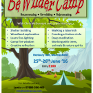 BeWilderCamp – June 25-26th 2016