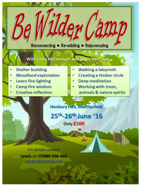 BeWilderCamp - June 2016